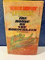 RARE vintage THE HOUSE ON THE BORDERLAND paperback W. H. Hodgson PB 1977 Manor