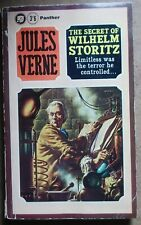 Jules Verne THE SECRET OF WILHELM STORITZ Panther 1st 1965 pb