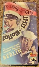 Fred Astaire & Ginger Rogers Follow the Fleet VHS