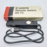 Canon Remote Switch 60 T3 - Canon T Series & Early EOS - Tested/100% - Excellent