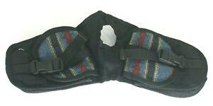 Abetta Brand Southwestern Style Blue Nylon Horn Bag 23405BU