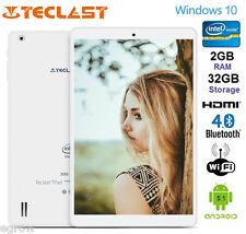 Teclast X80 Pro Tablet PC Quad Core Windows 10 Android 5.1 HDMI 32GB 1920 x 1200