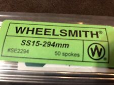 Wheelsmith SS15 294ss Silver spokes Pack Of 50