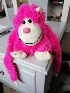 Paws. Plush Pink Monkey