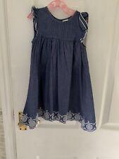 Boots Mini Club Blue Dress 9-12 Months