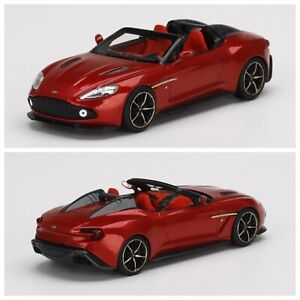 1/43 Truescale Tsm Aston Martin Vanquish Zagato Speedster Red Livraison Domicil