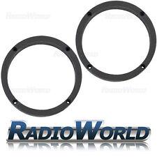 """Skoda Fabia MK1 6.5"""" 165mm MDF Front / Rear Speaker Adaptors / Rings / Spacers"""