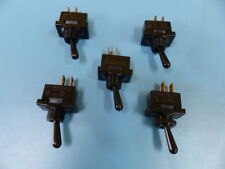 CARLING  DA101-BBB Qty of 5 per Lot TOGGLE SWITCH  5A 250VAC   DOES NOT INCLUDE