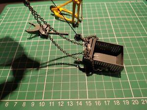 1:50 scale NZG Dragline bucket and fittings (Liebherr 855 duty cycle crane)