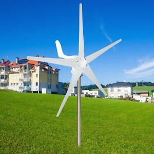 12V 500W 5 Blades Horizontal Residential Wind Turbine Generator + Controller UK
