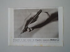advertising Pubblicità 1940 PENNA PELIKAN STILOGRAFICA