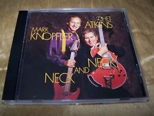 MARK KNOPFLER & CHET ATKINS NECK AND NECK ORIGINAL CD ALBUM 1990 DIRE STRAITS
