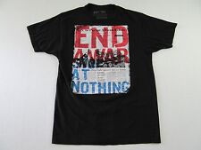 Kony 2012 U.S. Pursue African Rebels End War Black T Shirt Size M