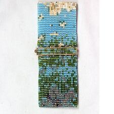 Loomed Designer Bracelet w/ 14kt GP Delica Clasp #11667