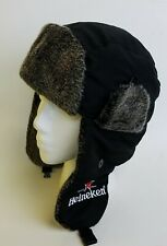Heineken Beer Winter  Faux Fur Lined Hat Cap