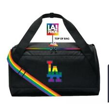 2019 LOS ANGELES DODGERS LGBT GAY Pride NIGHT DUFFLE BAG SGA New 5/31/2019