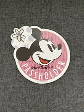 Disney World Annual Passholder Magnet - 2019 Food & Wine Festival - Minnie Mouse