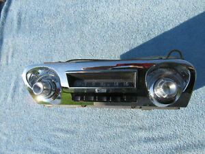 1959-60 Chevrolet Impala AM Push Button Radio GM Delco