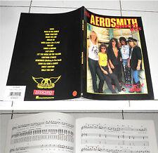 Spartiti AEROSMITH Greatest Hits GUITAR TAB PERFETTO Songbook Spartito Sheet