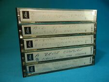 LOT - Toshiba C-90 FH Blank Cassette Tapes x5 - Used