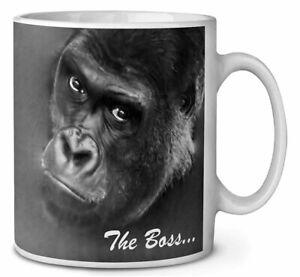 Gorilla 'The Boss' Fathers Day Gift Coffee/Tea Mug Gift Idea, AM-14MG