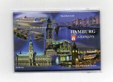Magnet HAMBURG Multibild Michel Rathaus Kühlschrankmagnet Pinnwand Souvenir NEU
