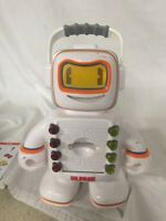 Playskool Alphie The Talking Robot Electronic Learning Toy w/ 3 Cards Works C-AG