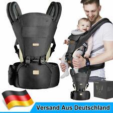 3 in 1 Ergonomische Babytrage Kindertrage Bauchtrage Rückentrage Hüftsitz 3-20kg