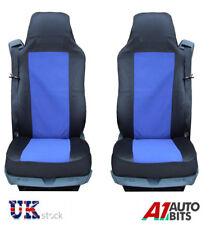 QUALITY BLUE-BLACK SEAT COVERS SET TAILORED FOR MAN TGL TGX TGA TGS TRUCK *NEW*