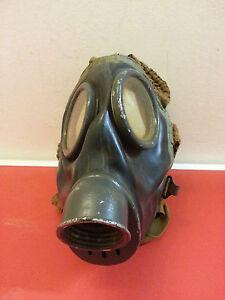 Dänische Zivil Schutzmaske Gasmaske M38 2.Weltkrieg 2.WK WK2 WW2 Respirator