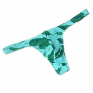 Men Swim Thong Mini Swimsuit Sexy Gay Bikini G-String Briefs Beach Bathing Suit