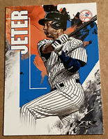 Derek Jeter 2019 Topps Fire New York Yankees Base Card #62