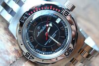 Russian Mechanical Automatic Wrist Watch VOSTOK AMPHIBIAN DIVER 160355