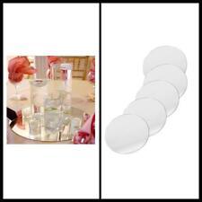 10 Pieces Round Glass Mirror Wedding Table Centerpieces 10-Inch Event Decoration