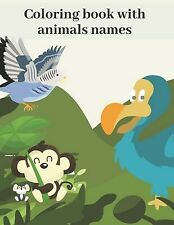 Coloring book animals names Awesome Animal Designs Color by Tom Perfect