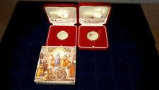 Vatikan Silbermünze  5 & 10 EURO 2004 PP