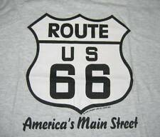 ROUTE 66 America's Main Street T-SHIRT Sz M Fruit of the Loom Best road sign