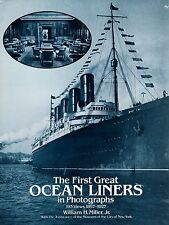 """""""The First Great Ocean Liners in Photographs 1897-1927"""" -  SSHSA MAILS WORLDWIDE"""