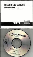 THEOPHILUS LONDON I stand Alone USA ULTRA RARE 2011 PROMO Radio DJ CD single