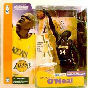 Shaquille O'Neal Variant Action Figure NBA Series 2 New Shaq McFarlane Amricons