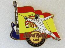 BARCELONA,Hard Rock Cafe Pin,2012 Olympics,Sport Flag,Summer Game