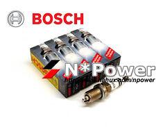 BOSCH DOUBLE Platinum SPARK PLUG SET 4 FOR FORD FIESTA XR4 2.0L N4JB 6.07-12.08