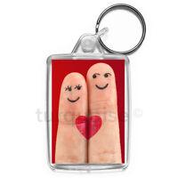 Love Keyring Gift Key Fob Keychain | Medium Size