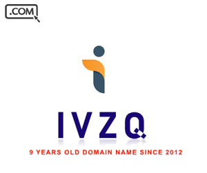 IVZQ.com - 4 Letter domain name .com - LLLL - 9 years old - Reg 2012