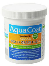 Aqua Coat Water Based Clear Wood Grain Filler Pint FREE SHIP!