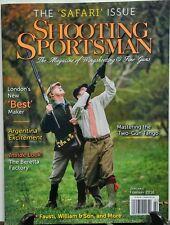 Shooting Sportsman Jan Feb 2016 The Safari Issue Wingshooting FREE SHIPPING sb