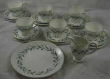 20 Piece tea set Vintage Myott's China-Lyke Ware, Carisbrooks L363 Trios