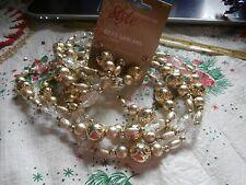 Sears Ty Pennington Style Golden Adornments Christmas Garland 8'