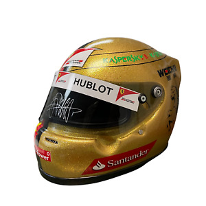 Sebastian Vettel Signed Ferrari F1 Replica Helmet