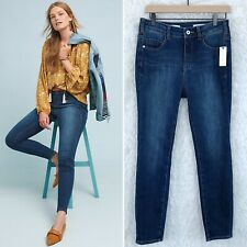 Pilcro & The Letterpress Curvy High Rise Skinny Jeans Anthropologie Womens 28